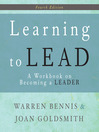 Learning to Lead (MP3): A Workbook on Becoming a Leader